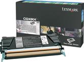 LEXMARK C524, C534 Toner schwarz hohe Kapazit�t 8.000 Seiten 1er-Pack R�ckgabe