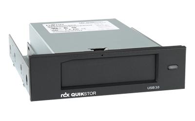 FUJITSU RDX Drive USB 3.0 13,3cm 5,25Zoll intern 100MB/s ohne RDX-Medium Stecker USB 3.0 B-type mit USB 3.0 A auf B Kabel