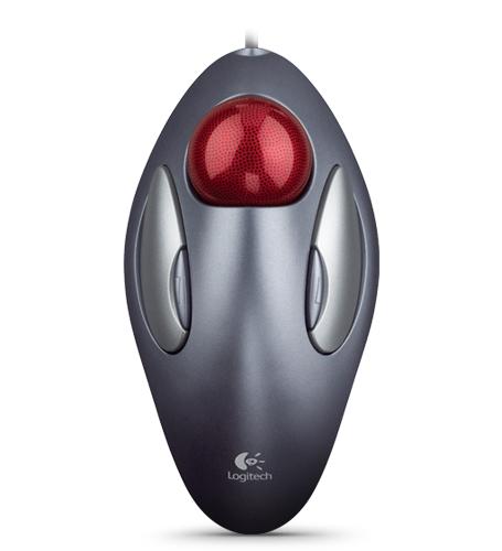 LOGITECH TrackMan Marble Mouse USB darkgrey