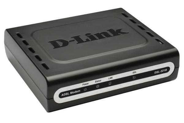 D-LINK ADSL2+ Ethernet Modem Rev.Z Annex B und J - inkl. TAE Adapter RJ-11 auf TAE