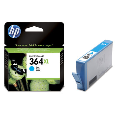 Inktpatroon HP 364XL originele high-capacity cyaan inktcartridge