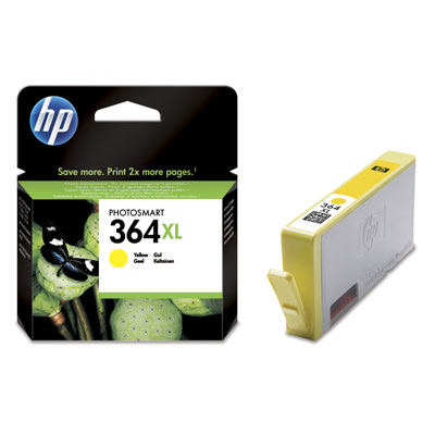 HP 364XL Ink CB325EE Yellow Vivera