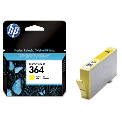 HP Tinte CB320EE yellow Nr. 364 für Photosmart D5400