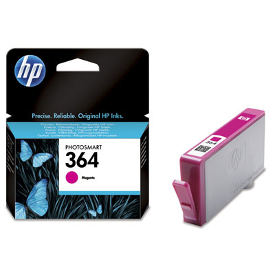 Inktpatroon HP 364 Magenta Ink Cartridge