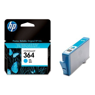 Inktpatroon HP 364 Cyan Ink Cartridge