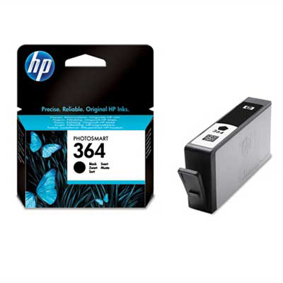 Inktpatroon HP 364 Black Ink Cartridge