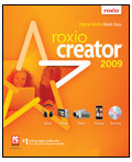 Roxio 242310UK Creator 2009 Ultimate (Double DVD) Win, EN  - burning software