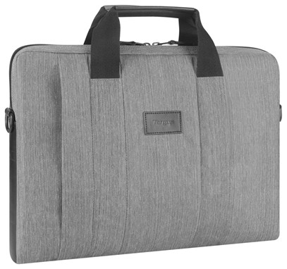 Laptoptas Targus Mooie grijze laptoptas - City Smart laptoptas