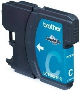 BROTHER LC-1100 Tinte cyan hohe Kapazit�t 16ml 750 Seiten 1er-Pack