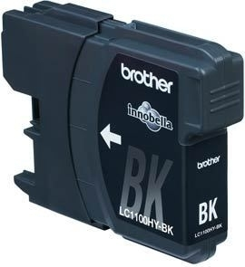 BROTHER LC-1100 Tinte schwarz hohe Kapazität 19ml 900 Seiten 1er-Pack