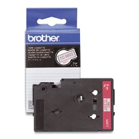 BROTHER P-Touch TC-101 schwarz auf clear 12mm