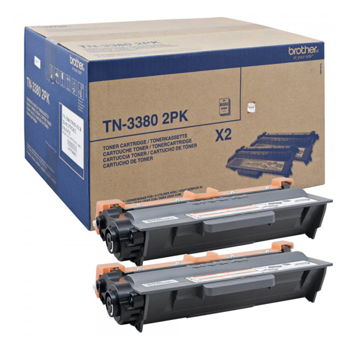 BROTHER TN3380TWIN Toner 8.000 Seiten 2 STueck