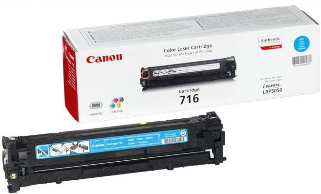 CANON 716 Toner cyan Standardkapazität 1.500 Seiten 1er-Pack