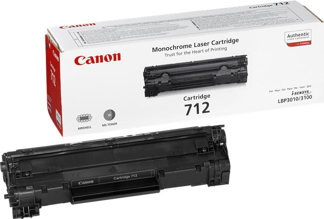 CANON 712 Toner schwarz Standardkapazität 1.500 Seiten 1er-Pack