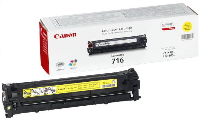 CANON 716 Toner gelb Standardkapazität 1.500 Seiten 1er-Pack