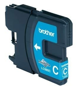 BROTHER LC980C Tinte cyan fuer DCP-145C DCP-165C -195C -365CN -375CW MFC-250C -255CW -290C -295CN