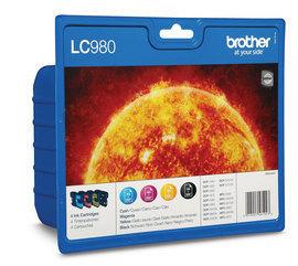 Label Brother LC-980VALBP inktcartridge