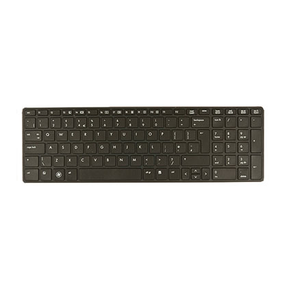 HP Ersatzteil Tastatur ProBook 6570b (UK) (S)