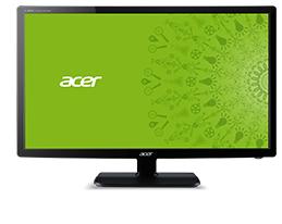 ACER V246HLbmd 61cm 24Zoll Wide TFT dual LED Backlight 100M:1 5ms 250cd/m  Lautsprecher