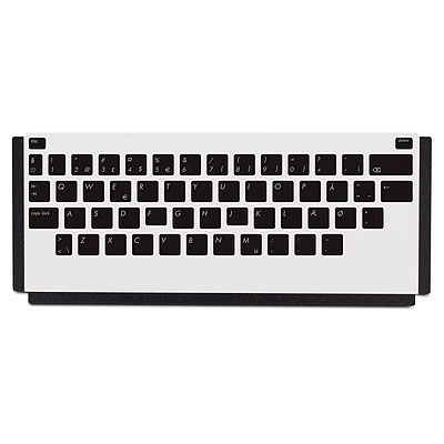 Desktop HP LaserJet Keyboard Overlay Kit-Danish/French-Switzerland/German-Switzerland