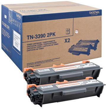 BROTHER TN3390TWIN Toner 12.000 Seiten 2 STueck