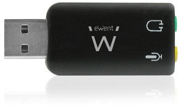 EWENT USB soundcard 5.1 Virtual 3D