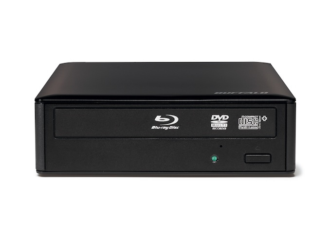 BUFFALO 16x External Blu-rayXL (BDXL) Drive USB3.0 with CyberLink Software Suite