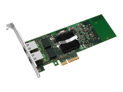 Netwerk adapter Intel Gigabit ET Dual Port Server Adapter Bulk