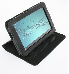 KENSINGTON Samsung Galaxy Tab2 17,8cm 7zoll Folio Case - Schwarz Tasche