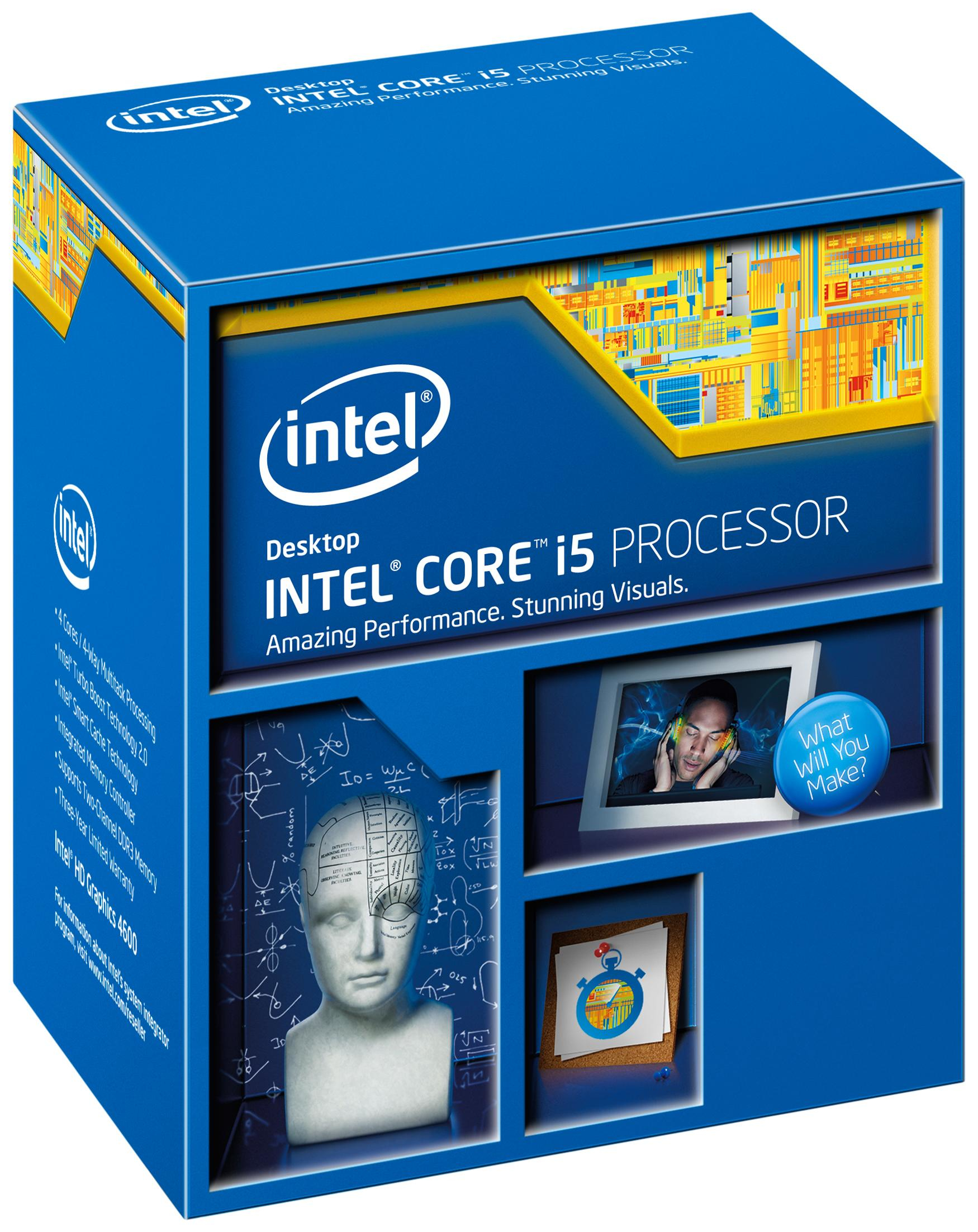 Intel Core i5 4570 PC1150 6MB Cache 3,2GHz retail