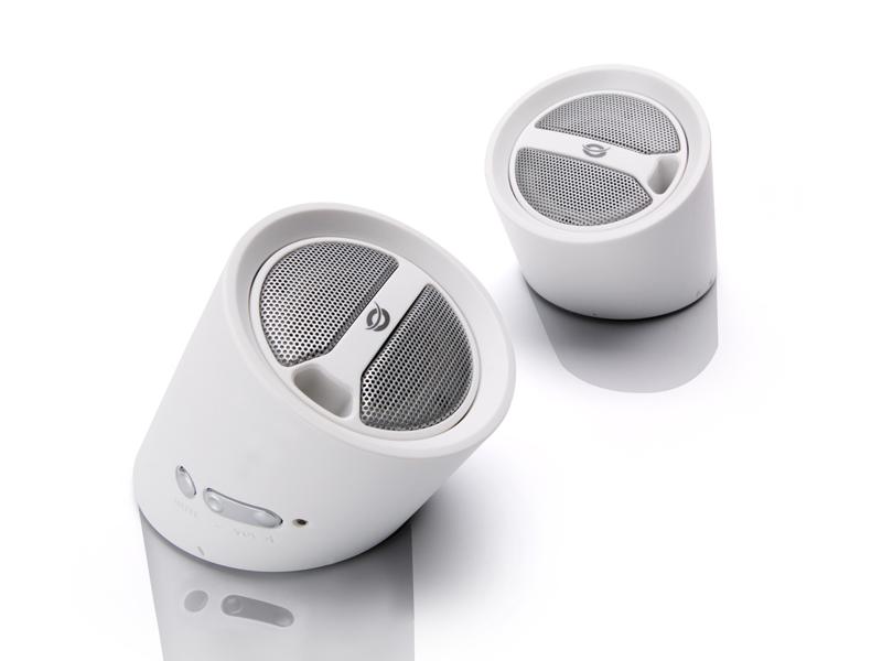 Luidspreker Conceptronic USB Portable Stereo Tube Speakers