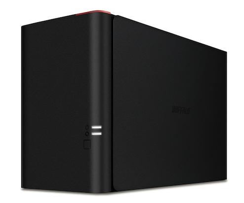 BUFFALO LinkStation 420 NAS 2TB High Speed NAS 2x 1TB HDD 1x Gigabit RAID 0/1