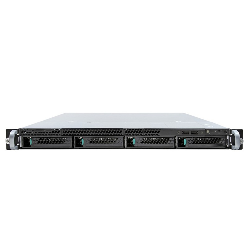 INTEL Server System R1304RPOSHBN 1x Server Board S1200RPO 1x 4-port passive SAS/SATA Backplane 4x 3.5Z HS Drive Carriers 350W fix