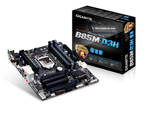 Gigabyte B85M-D3H µ
