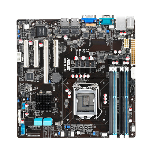 ASUS Server MB P9D-M Socket LGA1150 uATX Intel C224 4x DDR3 max 8GB 4x PCI-E