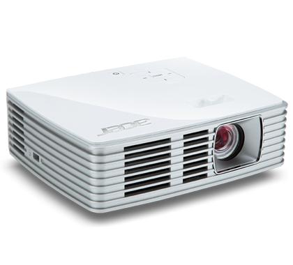 ACER K132 DLP LED Projektor 500 ANSI Lumen WXGA 1280x800 10000:1 HDMI/MHL 24-pin Universal Analog RGB USB Typ B