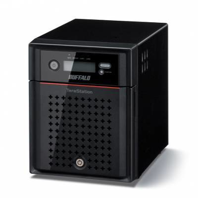 BUFFALO TeraStation 4400 - Diskless Enclosure NAS iSCSI - RAID 0/1/5/6/10