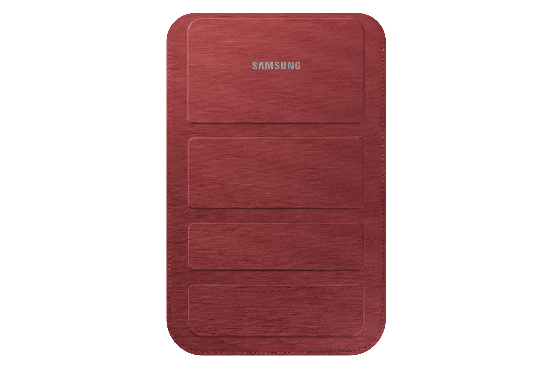 SAMSUNG Tasche garnet red universel mit Aufstellfunktion fuer Galaxy Tab3 7.0