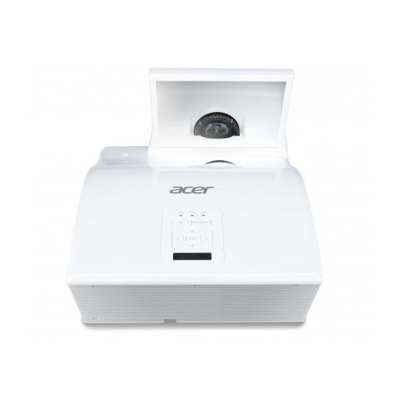 ACER U5313W DLP Ultra-Kurzdistanz Projektor 3100 ANSI Lumen WXGA 1280x800 10000:1 HDMI D-Sub Cinch-Video RS232