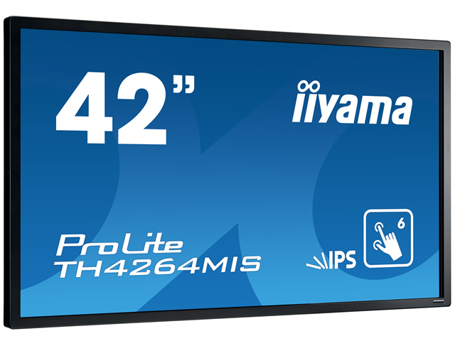 IIYAMA ProLite B2480HS-W2 60cm 23,6Zoll FullHD LED 2ms HDMI DVI VGA 250cd/m  16:9 hoehenv. Pivot Lautsprecher Weiss