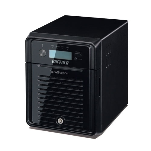 BUFFALO TeraStation 3400 8TB NAS & iSCSI 4x2TB 2xGigabit RAID 0/1/5/6/10
