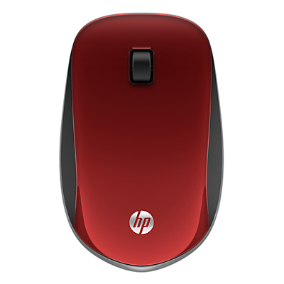 HP Z4000 Red Wireless Mouse