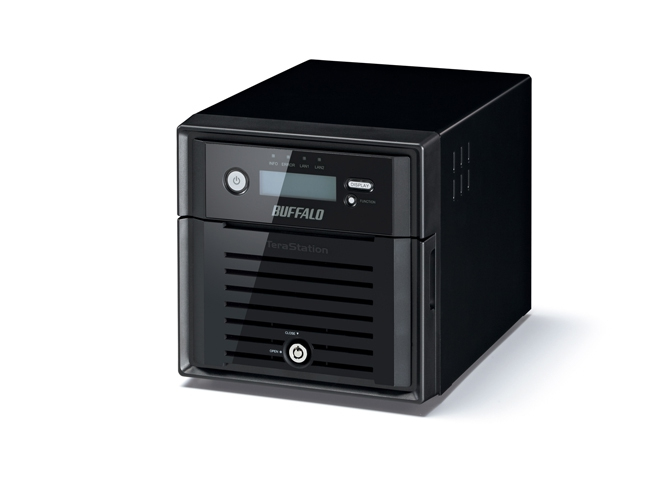BUFFALO TeraStation 4200 - 2 bays Desktop Diskless Enclosure NAS iSCSI - RAID 0/1 - 2xGbE