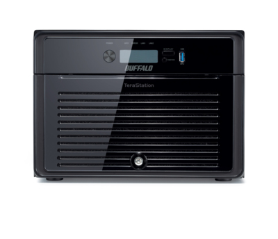 BUFFALO TeraStation 4800 - 8 bays Desktop Diskless Enclosure NAS iSCSI - RAID 0/1/5/6/10/50/51/60/61 - 2xGbE