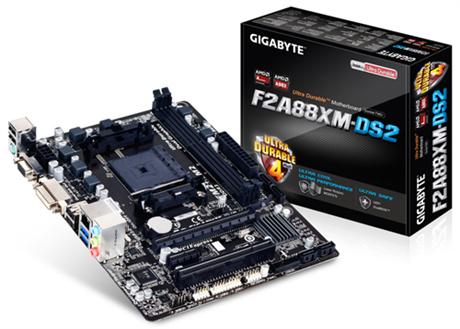 MB Gigabyte GA-F2A88XM-DS2 (A88X,FM2,mATX,DDR3,VGA,AMD)