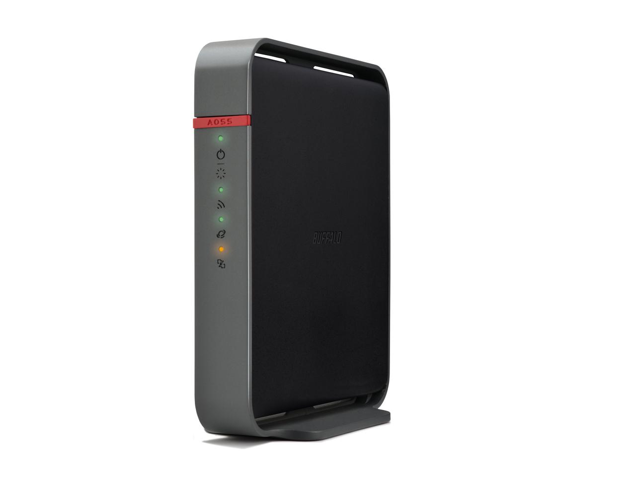 BUFFALO Wireless Router 11n/600Mbps/4 FE LAN Dual Band