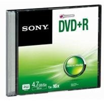 Sony DPR47SS (her)schrijfbare DVD's