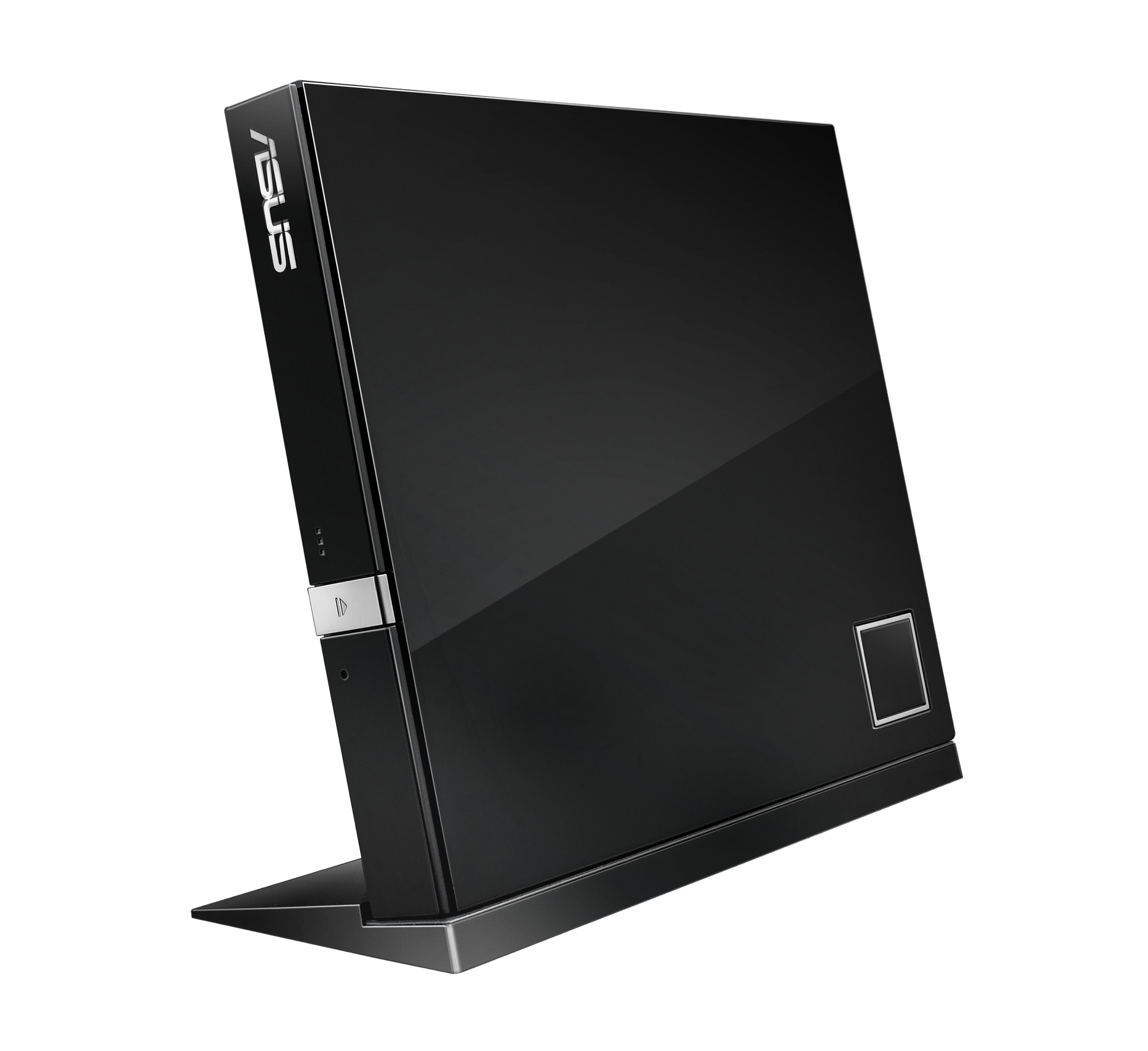 BlU-ray COMBO ASUS SBC-06D2X-U EXT Slim BDXL USB black extern retail