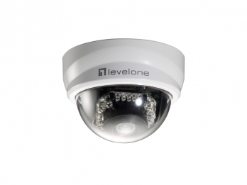 LEVEL ONE FCS-3101 2-Megapixel Day/Night PoE Mini Dome Network Camera