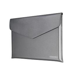 TOSHIBA Ultrabook Sleeve 39,6cm 15,6Zoll stahlgrau-metallic